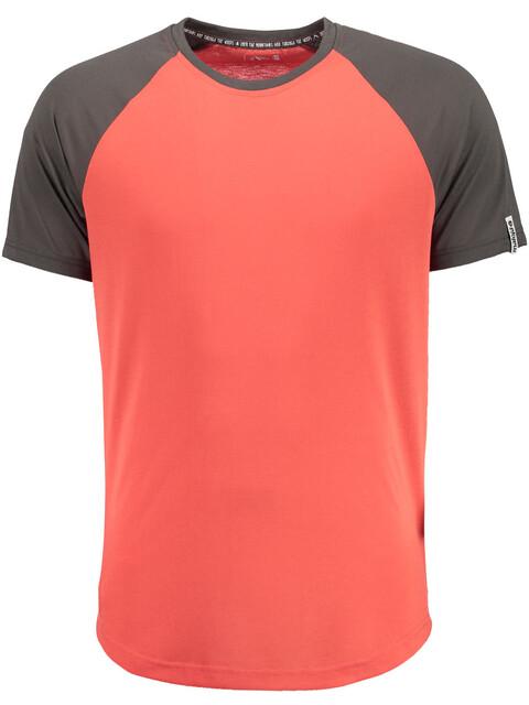 Maloja M's EhrlbachM. Short Sleeve Multisport Jersey Vintage Red